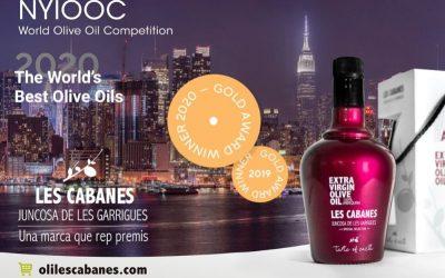 La Cooperativa de Juncosa, guardonada per segon any consecutiu amb una Medalla d'Or als premis NYIOOC World Olive Oil Competition 2020
