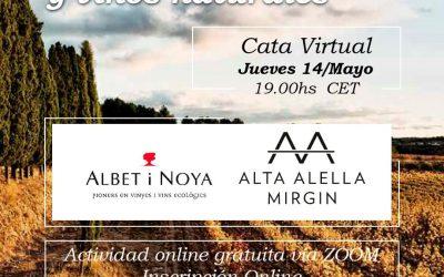 LAS CATAS VIRTUALES de WINE STYLE TRAVEL con Albet y Noia y Alta Alella