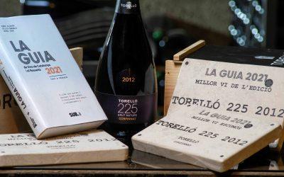 L'escumós Torelló 225, collita 2012, escollit millor vi de la Guia de vins de Catalunya 2021