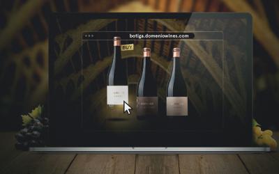 Cellers Domenys dinamitza els vins, caves i olis DOMENIO WINES amb un nou web de producte i l'activació de la botiga online