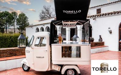 La moto-bar vintage de Torelló Viticultors