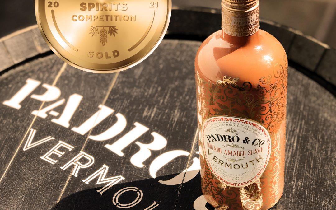 El Vermouth Dorado Amargo Suave de Padró & Co. gana una Medalla de Oro en la World Spirit Competition de San Francisco