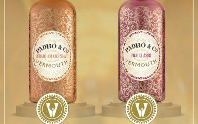 2 Premios Vinaris de Oro 2021 para Vermouth Padró & Co.